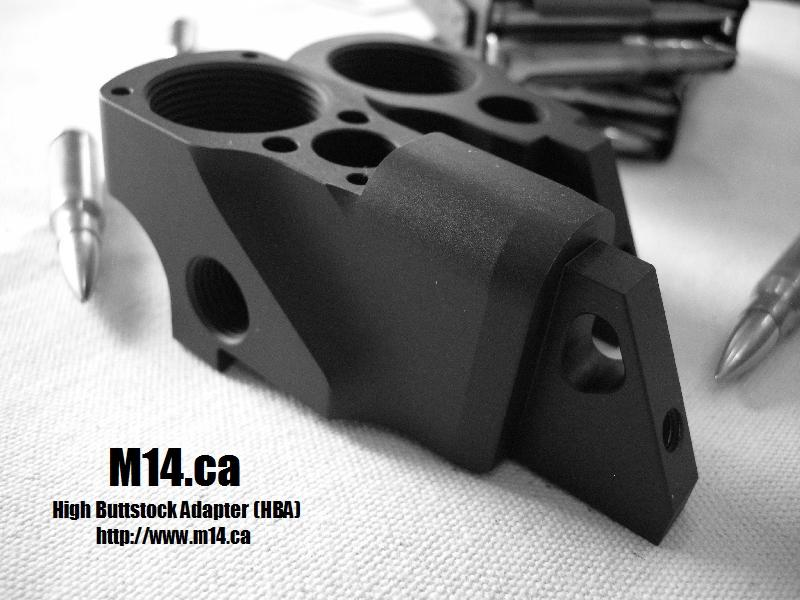 M14/M1A High Buttstock Adapter