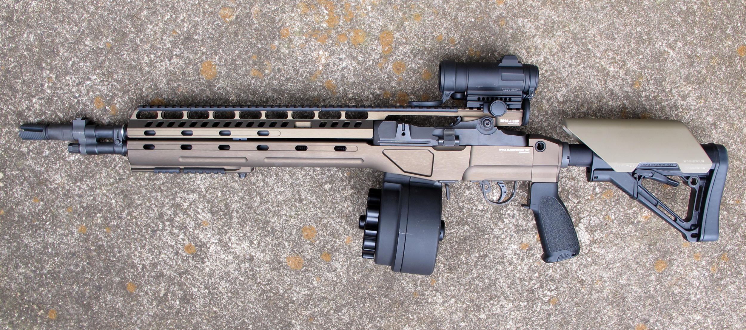 M14 CA | M14/M1A Blackfeather® RS (Rifle System)