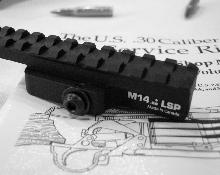 M14 M1A LSP Long Sight Plane Hand Guard, Scope Mount, Accessory Rail.