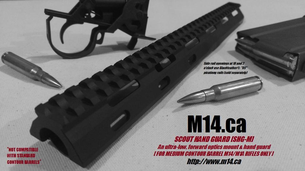 M14/M1A SHG-M Scout Hand Guard