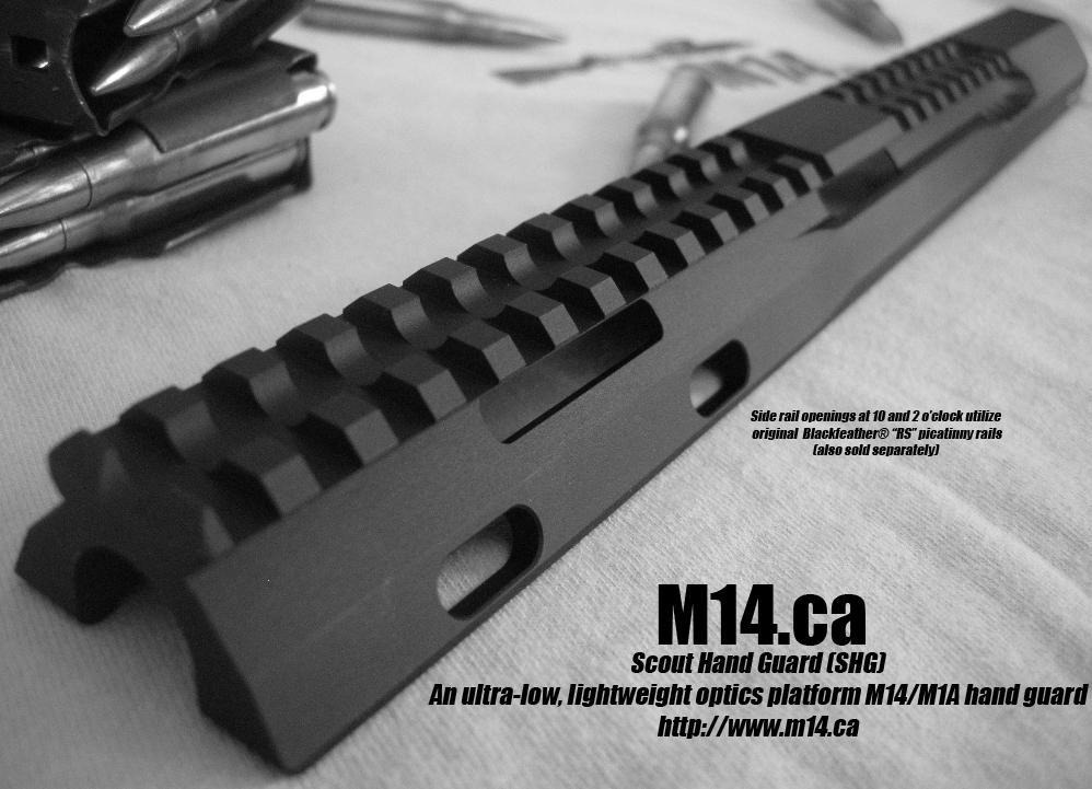 M14/M1A SHG Scout Hand Guard