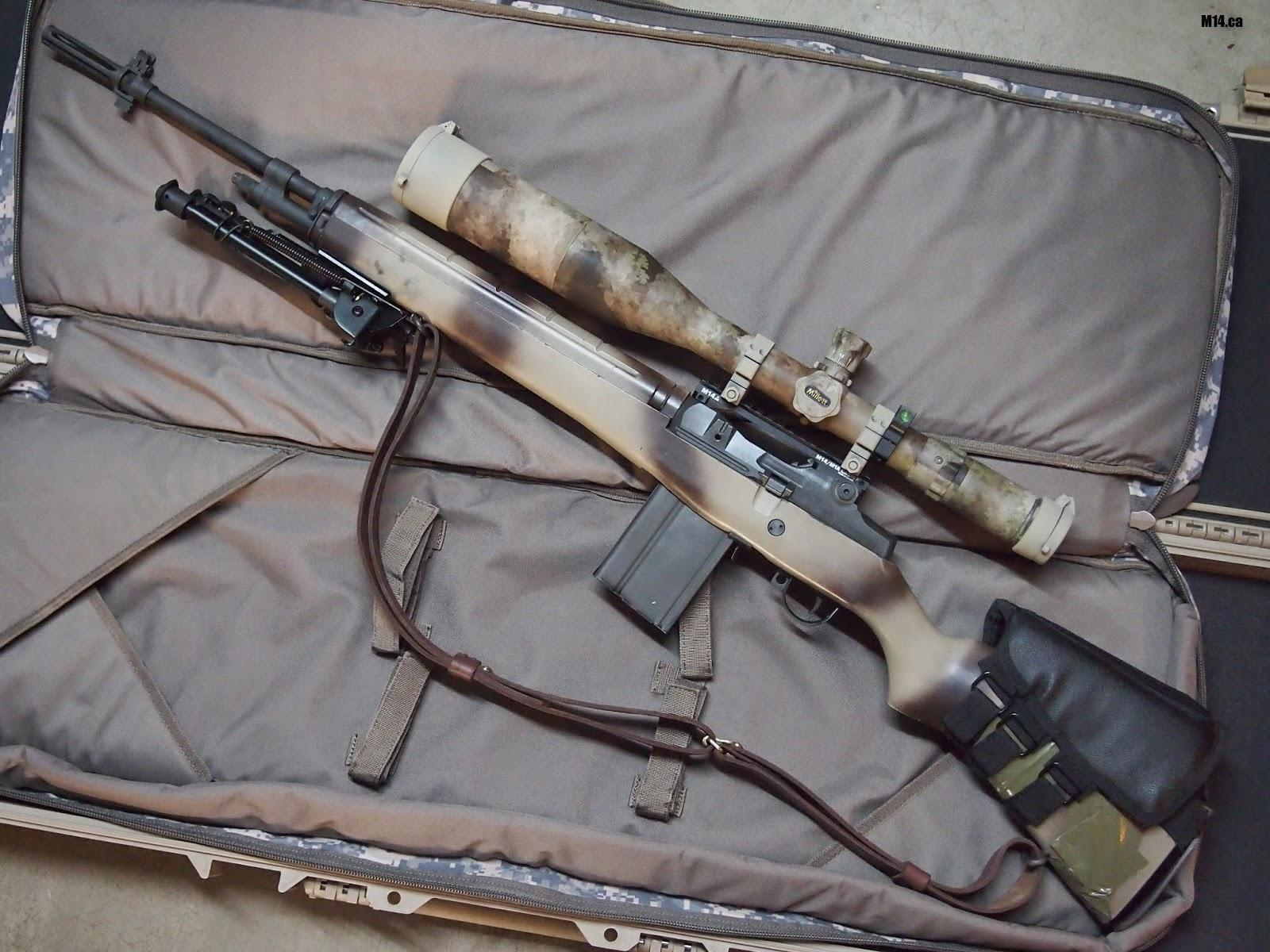 M14 EBR Rifle by TheOrangeGuy ...