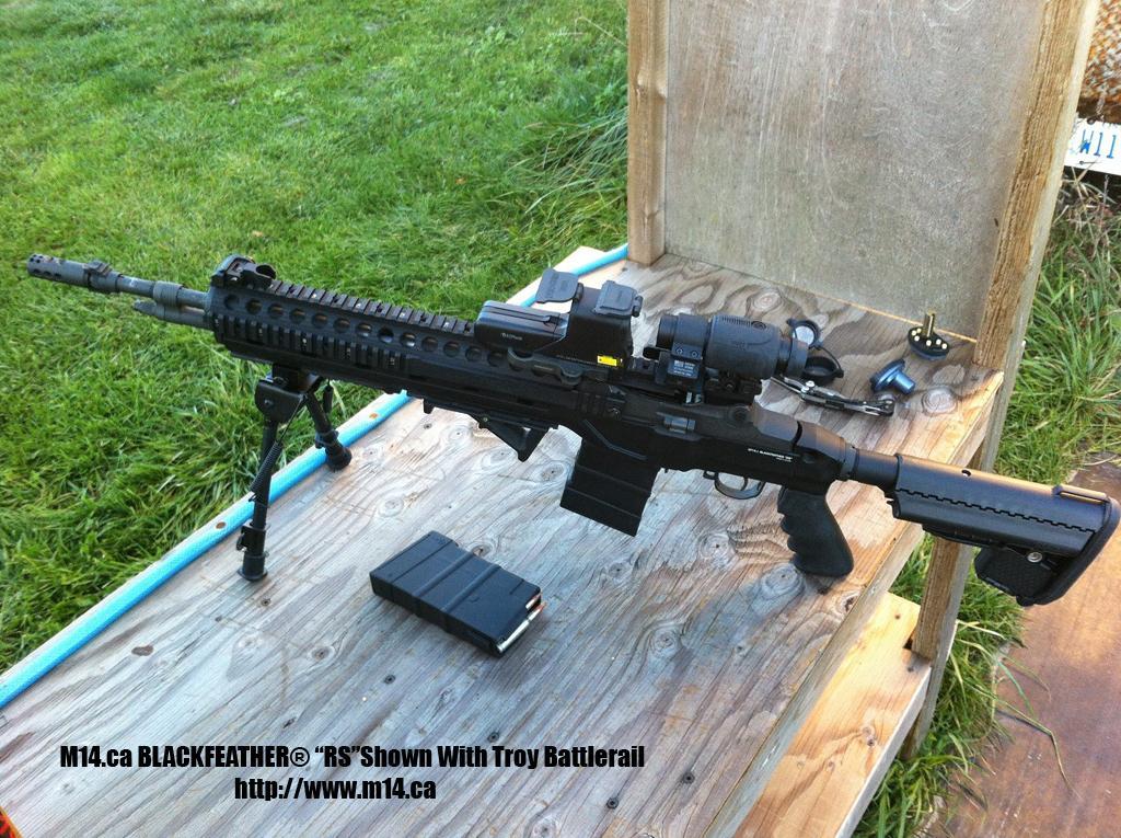 M15 18 Tactical Rifle  Armalite