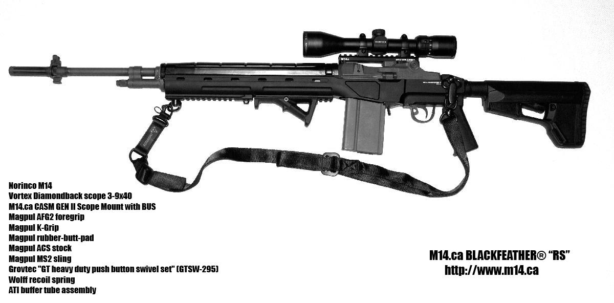 M14 ca Official Picture Thread  M14 Rifle Black