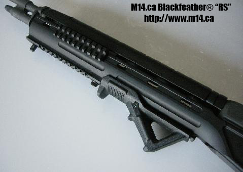 M14/M1A Blackfeather RS butt stock adapter