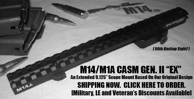 M14 CA, M14, M1A, M305 Rifle Stocks, Scope Mounts, Scout